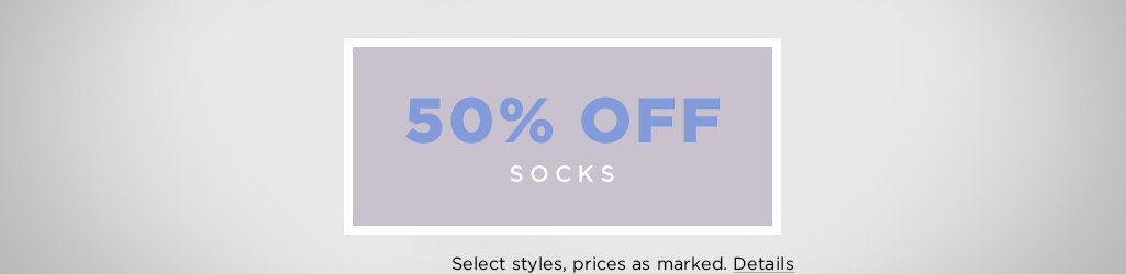 Shop Socks on Sale