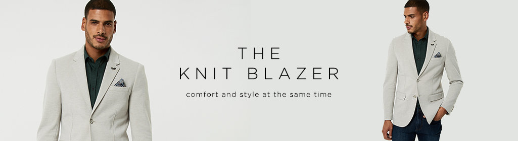 The Knit Blazer - Comfort and style at the same time