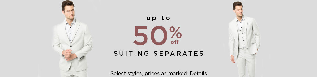 Shop Suiting on Sale
