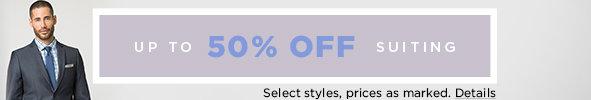 Shop Men's Suiting on Sale
