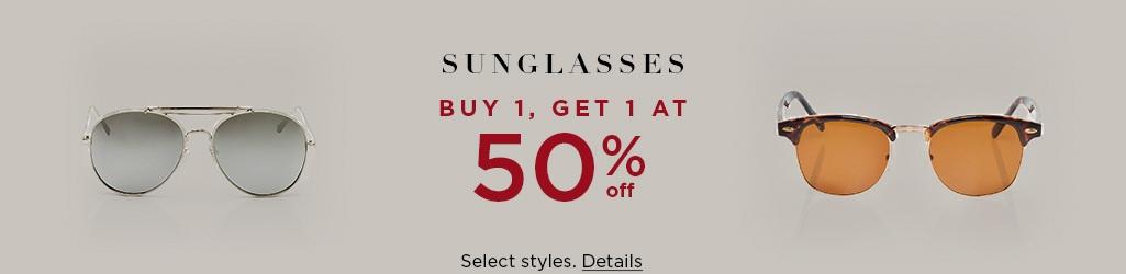 f35cda78ecb Men s Sunglasses  BOGO 50% Off