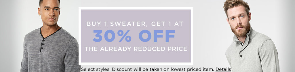 Shop Men's Sweaters on Sale