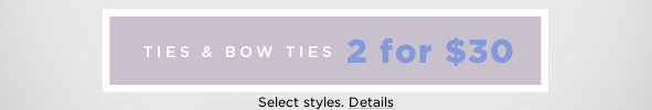 Shop Ties and Bow Ties on Sale
