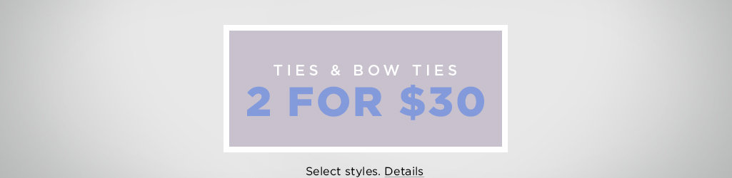 Shop Ties and Bow Ties on Salee