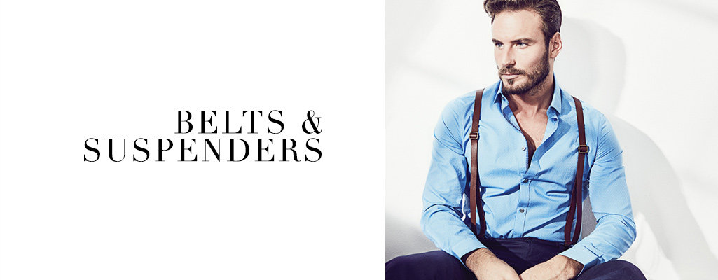 Men's Belts & Suspenders