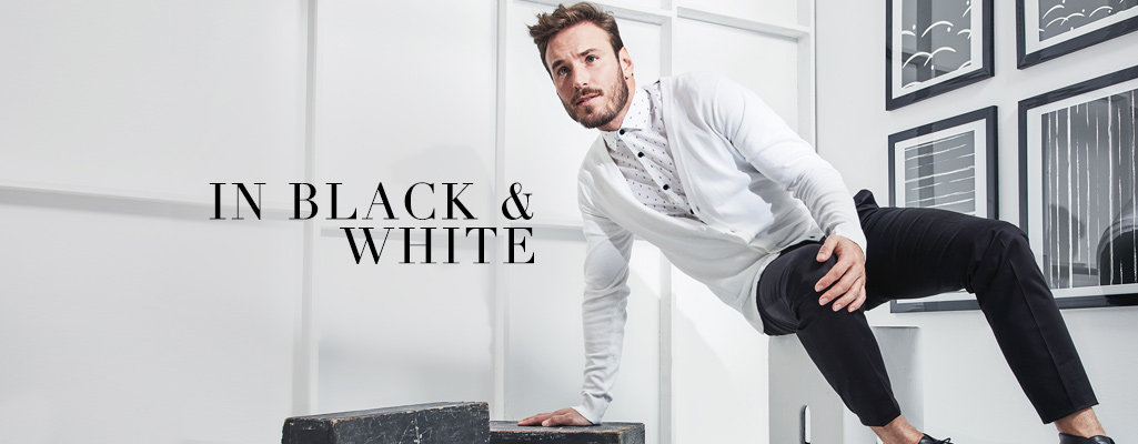 Shop the Black and White Trend