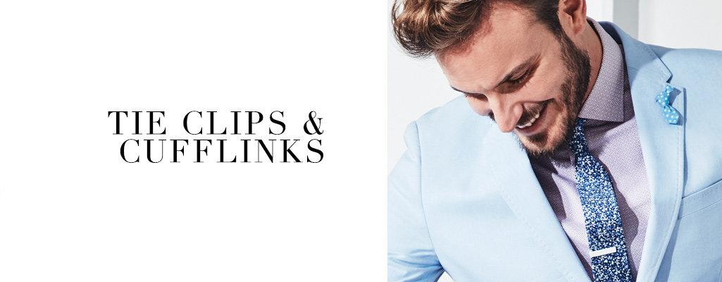Tie Clips & Cufflinks