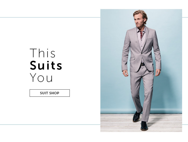 Shop Men's Suits