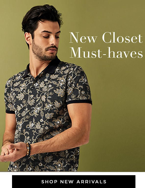 New closet must-haves. Take your look to the next level with our latest arrivals. Shop new arrivals >
