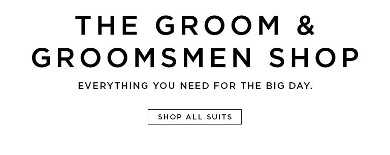 The groom & groomsmen shop- Everything you need for the big day.