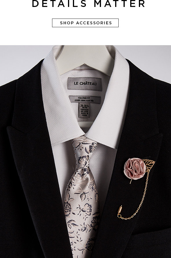 Details matter. Shop accessories
