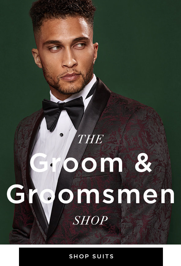 THE GROOM & GROOMSMEN SHOP.Stylish essentials for the modern groom and his crew. Shop all suits