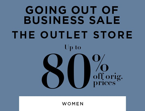 Shop the Outlet Store All Women's
