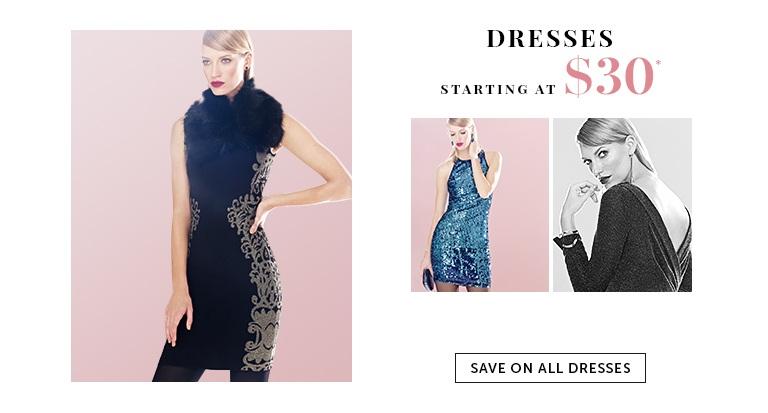 Save on Outlet Dresses