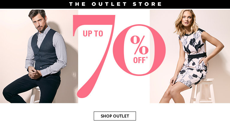 Outlet New Additions, Up To 70% Off