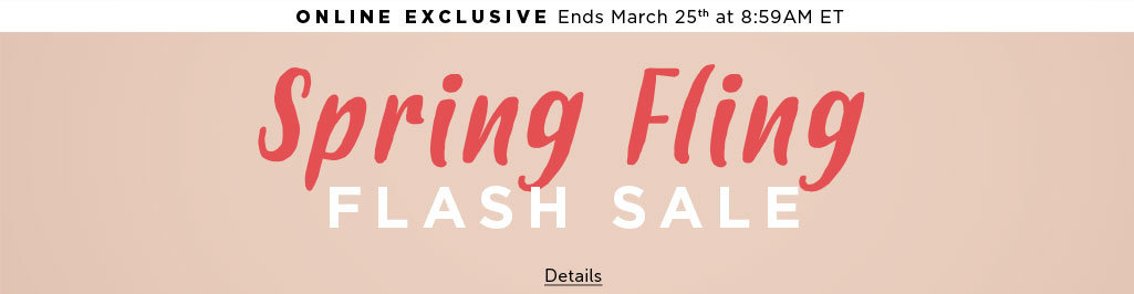 Outlet Flash Sale