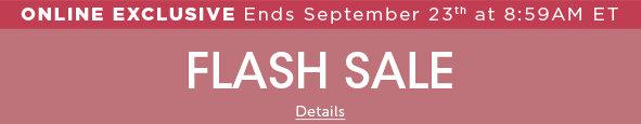 Outlet Flash Sale