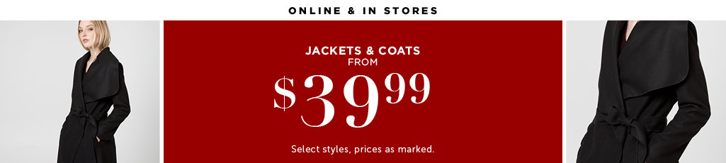 Outlet Jackets and Coats