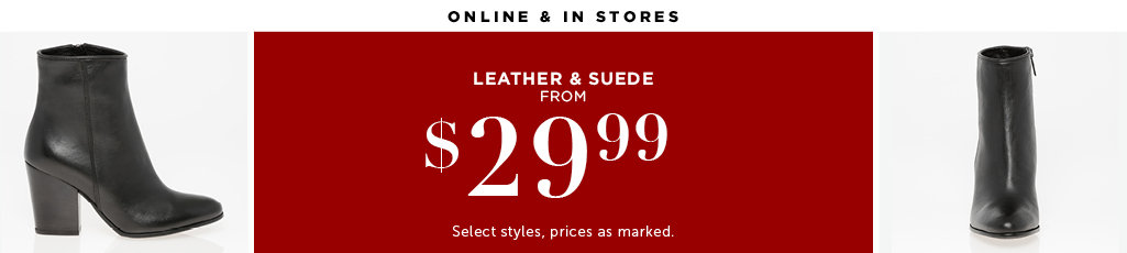 Outlet Leather and Suede