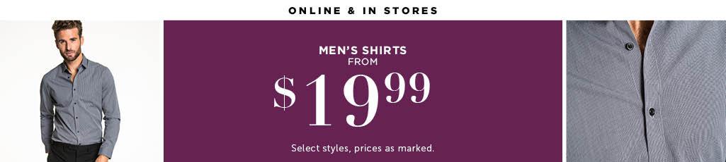 Outlet Men's Shirts
