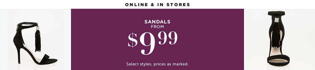 Outlet Sandals