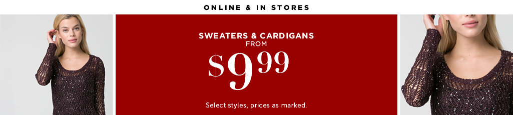 Outlet Sweaters and Cardigans