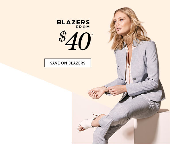 Save on Outlet Blazers for Women