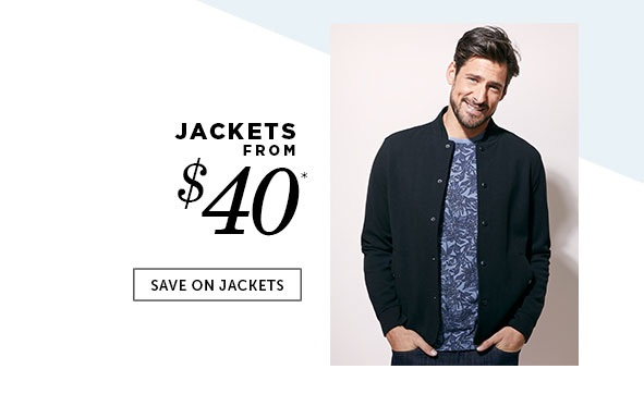 Save on Outlet Jackets for Men