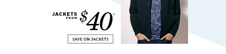 Save on Outlet Jackets for Men