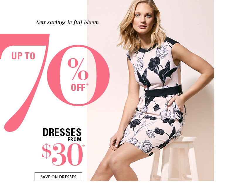 Save on Outlet Dresses