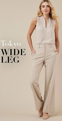 Tokyo wide leg