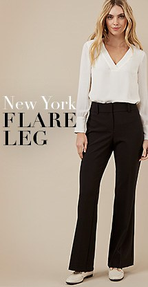 New York flare leg