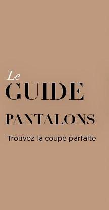 Le guide des pantalons