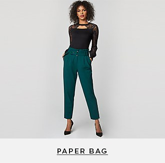 Shop Women's Paper Bag Pants