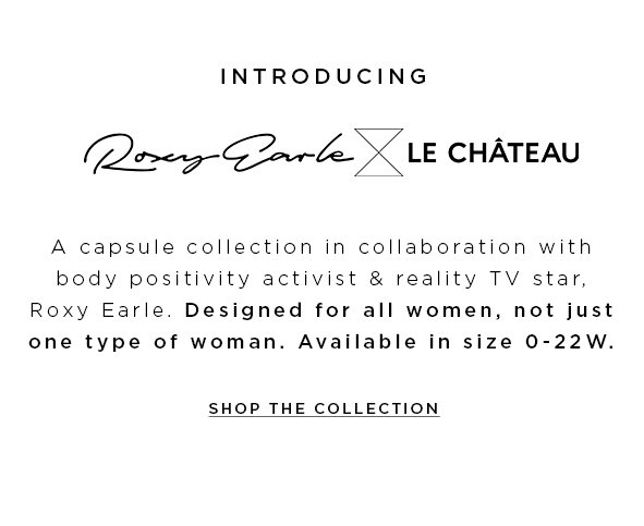 Shop the Roxy Earle x LE CHÂTEAU Collection