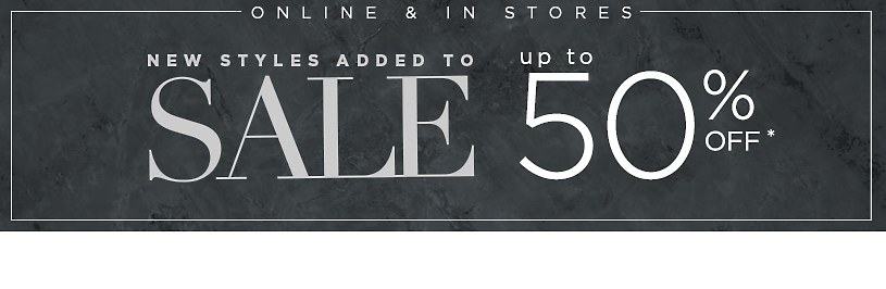 You'll fall for this sale. Up to 70% off. Shop Sale