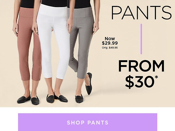Shop Women's pants On Sale
