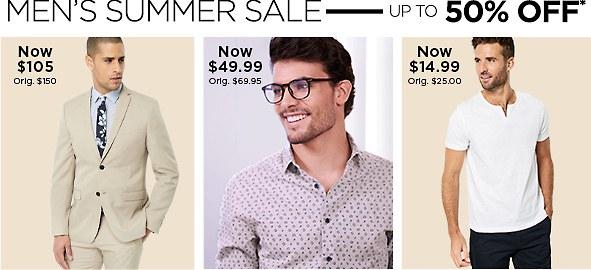 Shop Men's Clothing on Sale