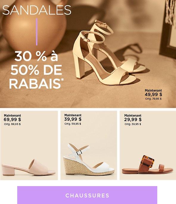 Magasinez les chaussures pour femmes en solde