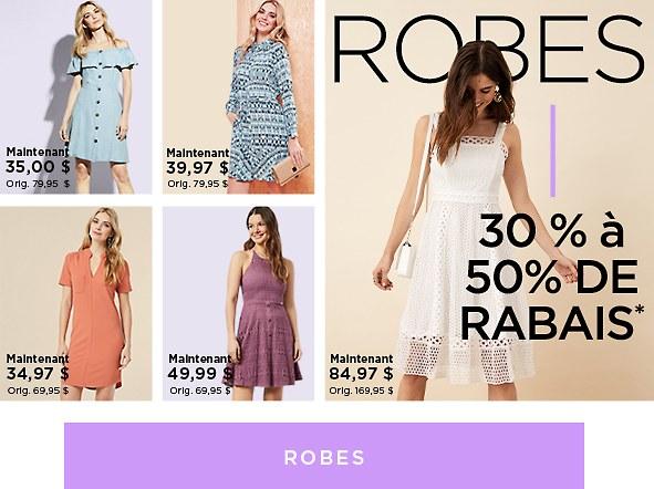 Magasinez les robes pour femmes en solde