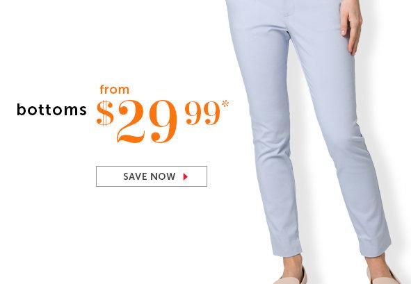 Shop Pants and Skirts on Sale