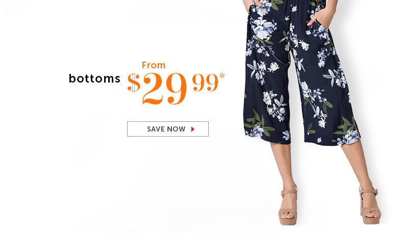 Shop Pants and Skirts on Sale
