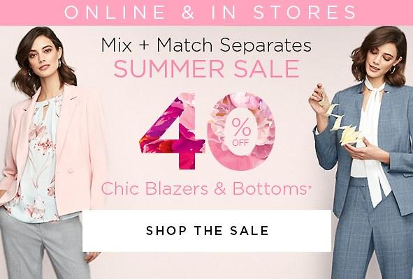 Shop Women's Blazers & Separates on Sale