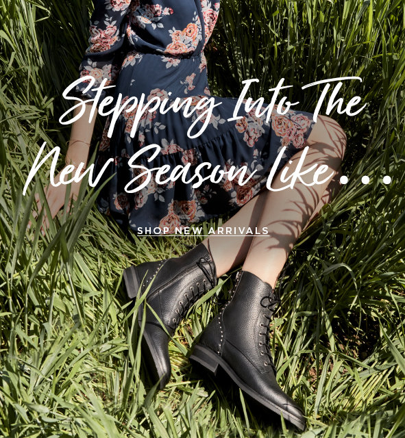 Stepping into new season like… Shop new arrivals>