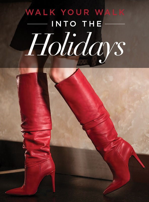 Walk Your Walk Holiday Shoe Guide