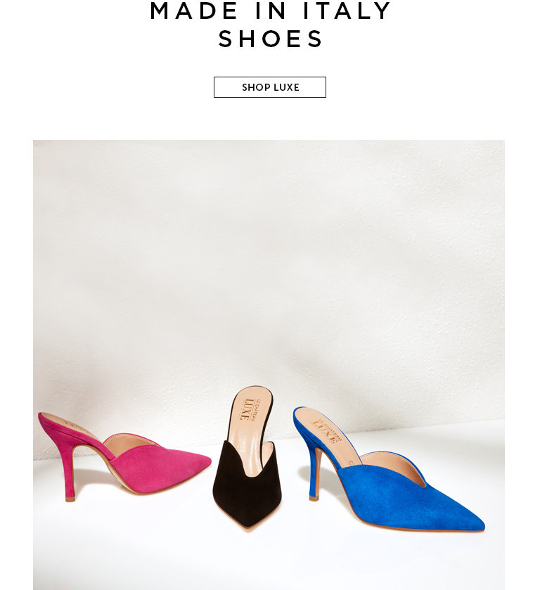 Shop Women's Italian-Made Shoes