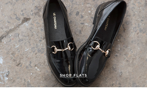 WHATEVER YOUR PATH THERE'S A SHOE FOR THAT.  SHOP FLATS >