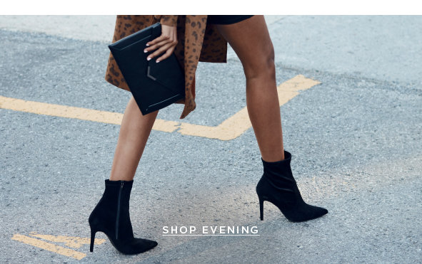WHATEVER YOUR PATH THERE'S A SHOE FOR THAT.  SHOP EVENING >
