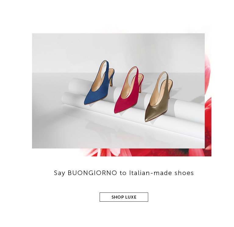 Shop Italian-made Shoes