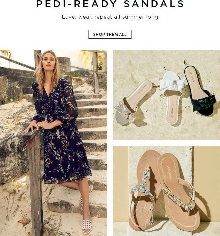 Pedi-ready sandals- love, wear, repeat all summer long.